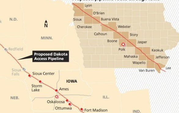 Call for Bakken Oil Pipeline Construction Monitors